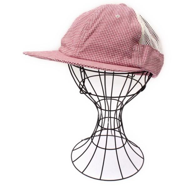 NO ROLL / ノーロール メンズ 帽子 色:赤系x白...