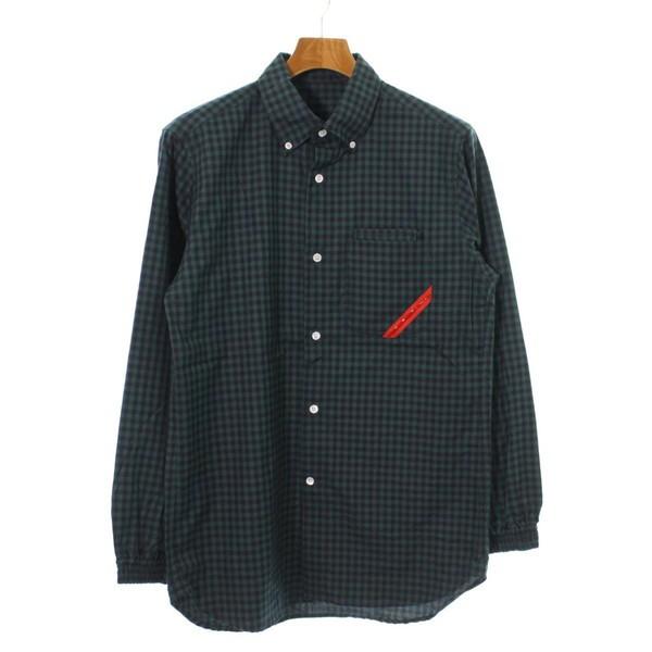PHINGERIN / フィンガリン メンズ シャツ 色:緑...