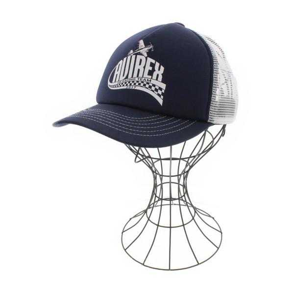 AVIREX  / アヴィレックス メンズ 帽子 色:紺系...