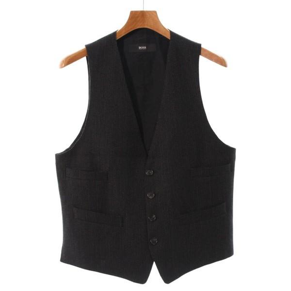 HUGO BOSS  / ヒューゴボス メンズ シャツ 色:黒...