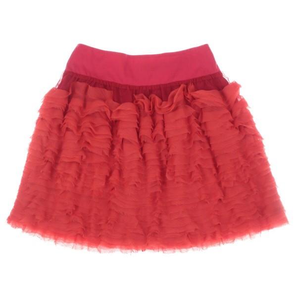 mi mi sol  / ミミソル キッズ スカート 色:赤 ...