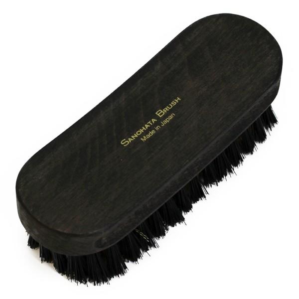 靴磨き ブラシ SANOHATAブラシ スエード用 真鍮