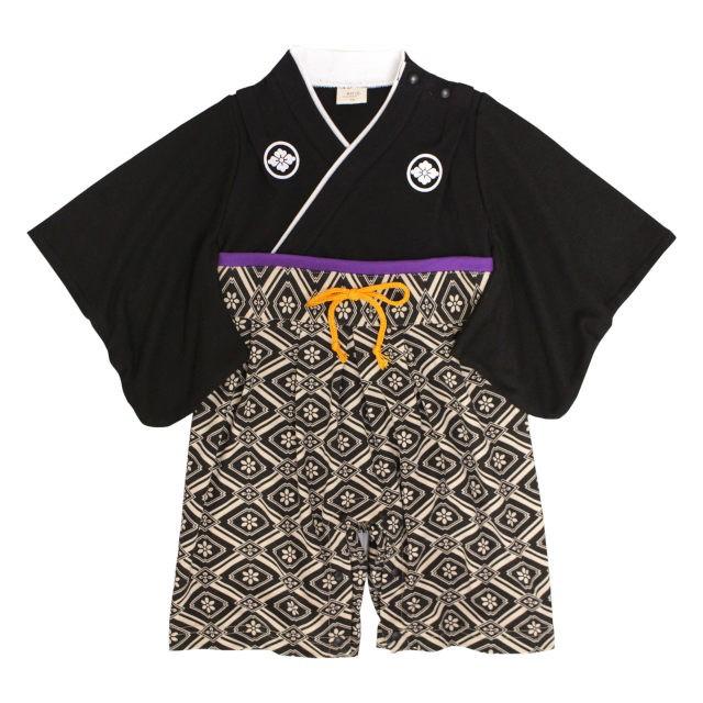 袴 ロンパース 赤ちゃん 初節句 はかま 和装 カバ...