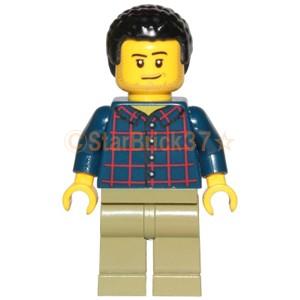 レゴ LEGO ミニフィグ シティ 人形:パンチパーマ...