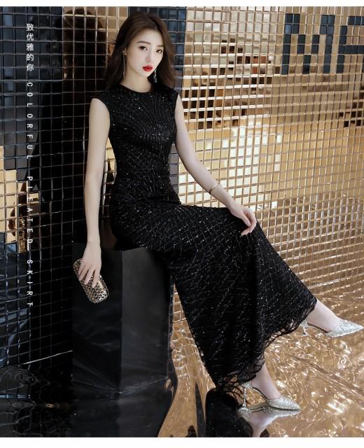 イブニングドレス S〜XXL 大きいサイズ ドレス...