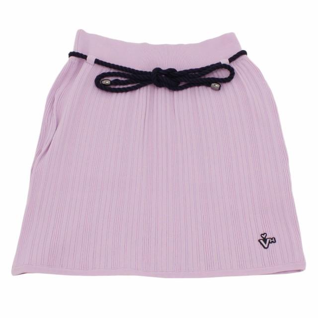 ビバハート(VIVA HEART)ゴルフウェア レディース ニットスカート 012-79342-081 (Lady's)