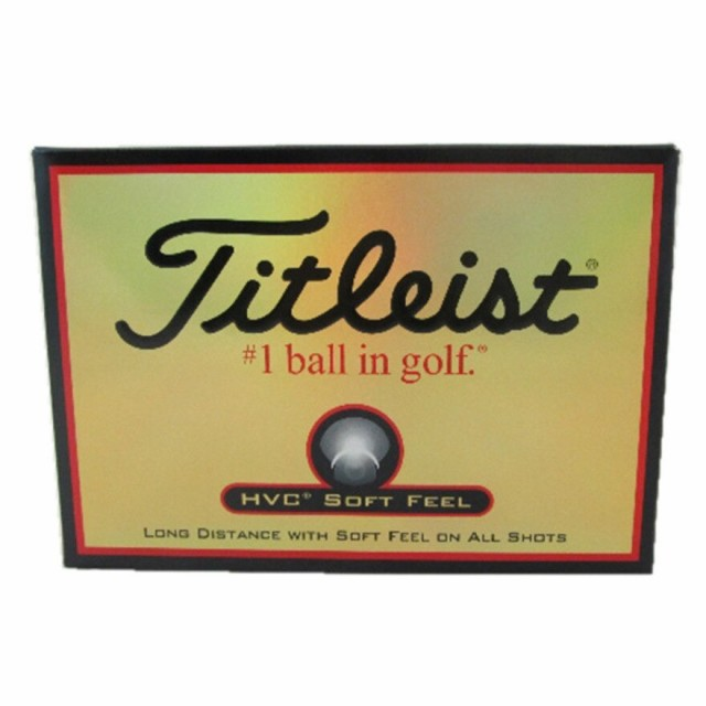 タイトリスト(TITLEIST)ボール HVC SOFT FEEL05 1...
