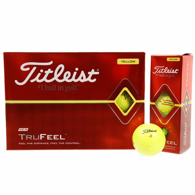 タイトリスト(TITLEIST)ボール  19 TRUFEEL T6134...