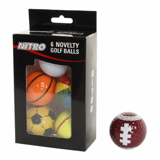 NITRO ゴルフボール Spオレンジts Pack NI59NA04 ...