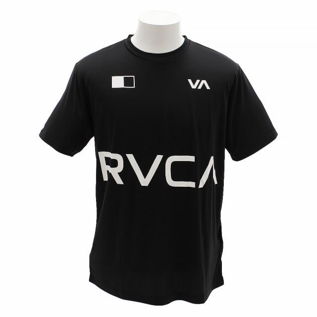 RVCA BANNER 半袖Tシャツ AI041854 BLK (Men's...