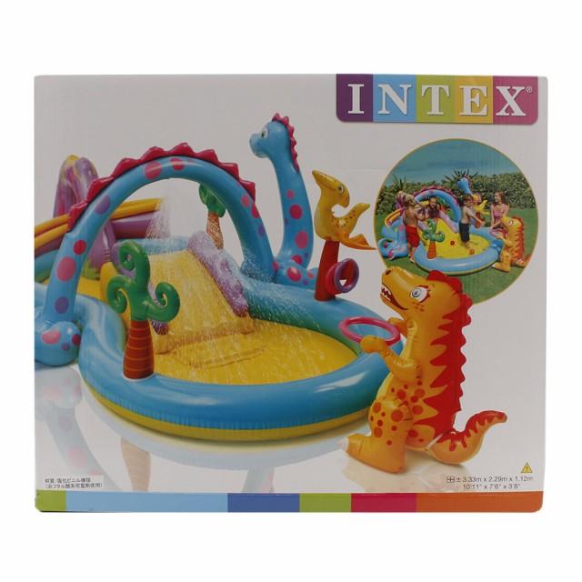インテックス(INTEX)ディノランドプレイセンタ...
