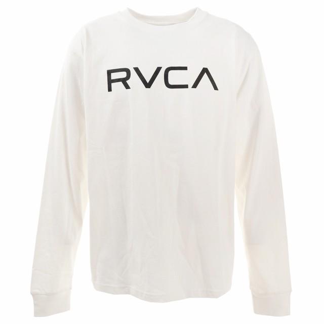 ルーカ(RVCA)Tシャツ メンズ 長袖 ビッグロゴ B...