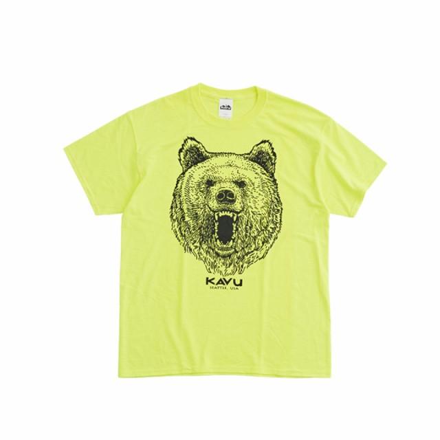カブー(KAVU)グリズリーTシャツ 19821232 セー...