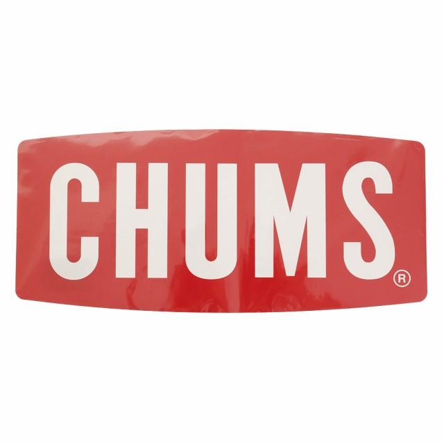 チャムス(CHUMS)ステッカー チャムス ロゴ ラージ...