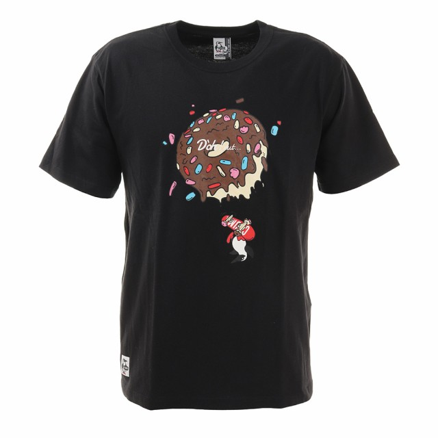 チャムス(CHUMS)ドーナッツ 半袖Tシャツ CH01-168...