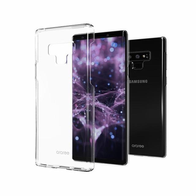 Galaxy Note9 ケース araree Nu:Kin ギャラクシー...