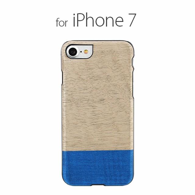 お取り寄せ iPhone8 iPhone7 ケース 天然木 Man&W...