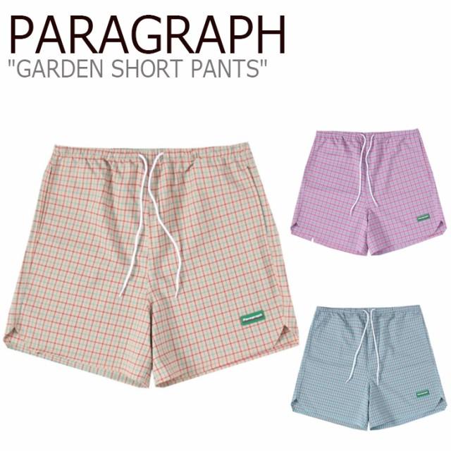 パラグラフ ハーフパンツ PARAGRAPH GARDEN SHORT...