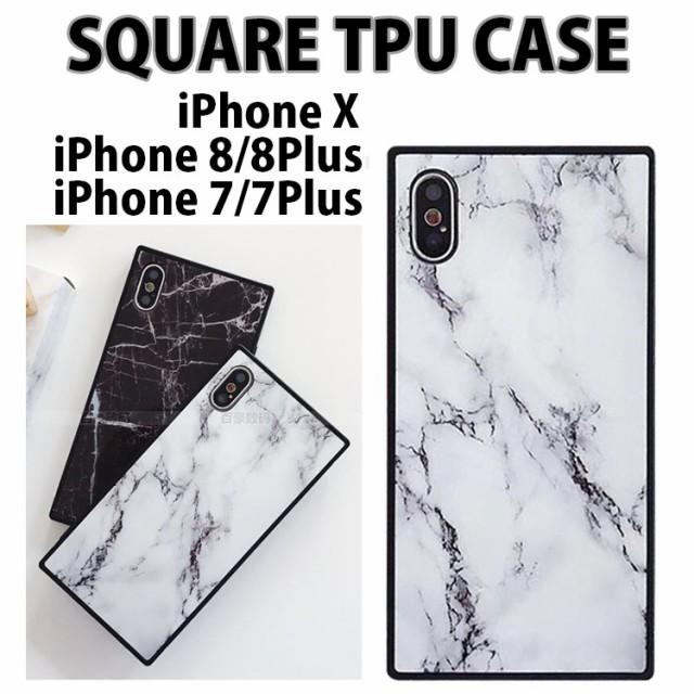 iPhone8 iPhoneX iPhone 8 Plus 四角い iPhone 7 ...