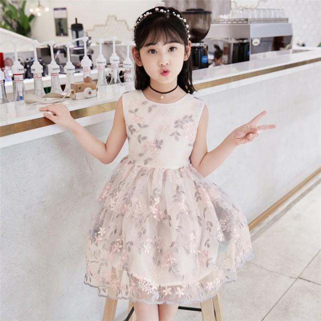 プリンセスドレス キッズ 子どもドレス ワンピー...