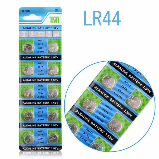 ■送料無料■ボタン電池LR44/1.55V 10個■...
