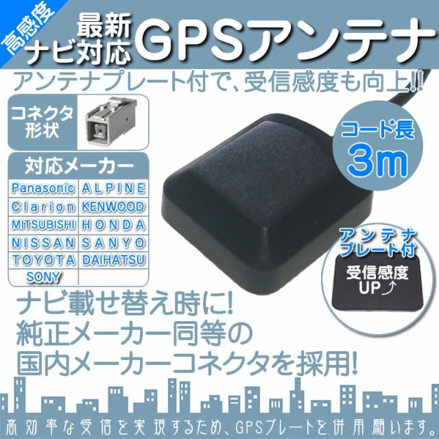GPSアンテナ 角型 灰色 GPS カプラー コネクター ...