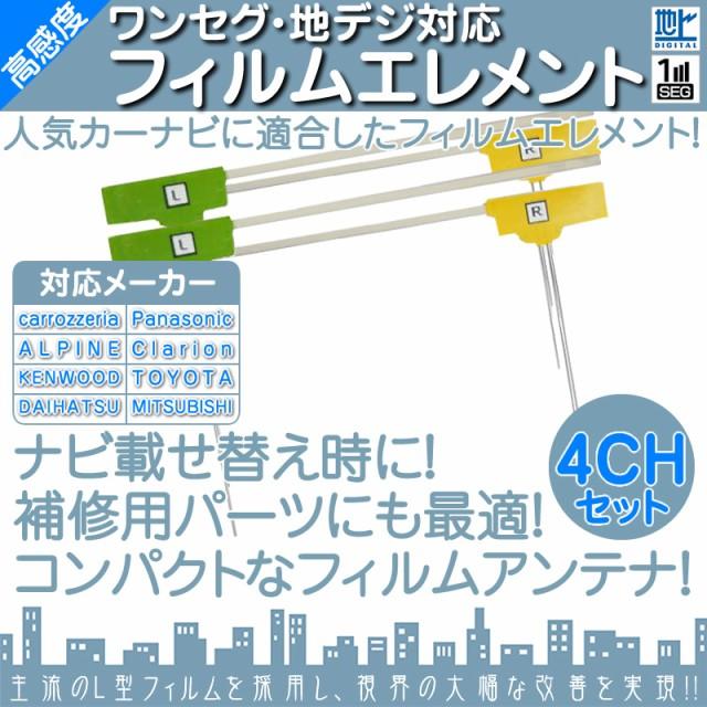 地デジ 4ch フィルム テレビアンテナ 地デジフィ...