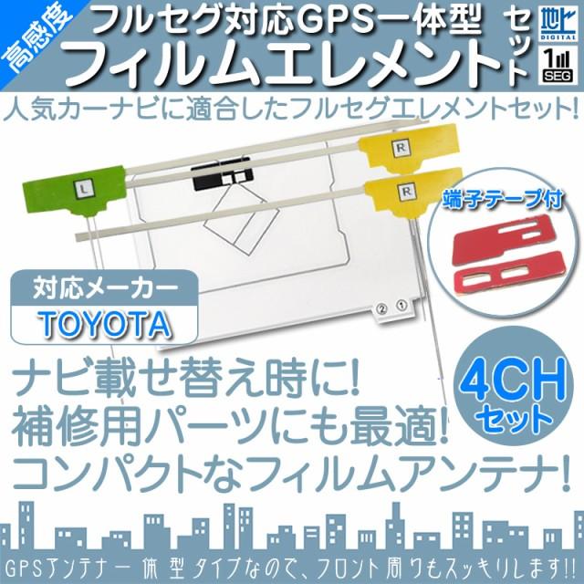 AVN661HD NHZN-W61G GPS一体型 地デジ 4ch フィル...