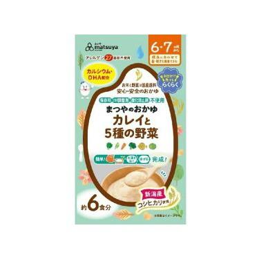 まつやのおかゆ カレイと5種の野菜 6食入(6...