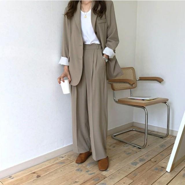 即納 送料無料 韓国ファッション 韓国 スーツ 韓...