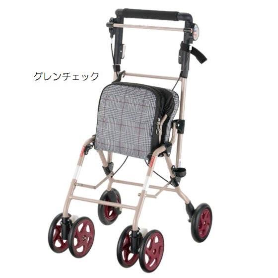 重さ3kgの散歩・外出向け 超軽量 シルバーカー【...