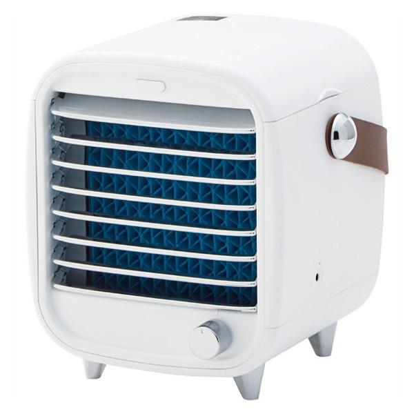 ICEエアーキューブ 涼しや コンパクト冷風機 ...