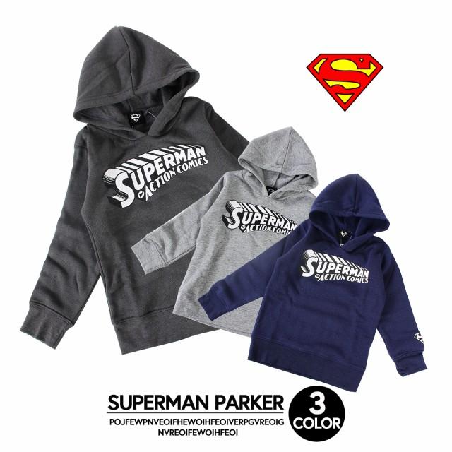 【SALE価格 1700円→950円】スーパーマンパーカー...