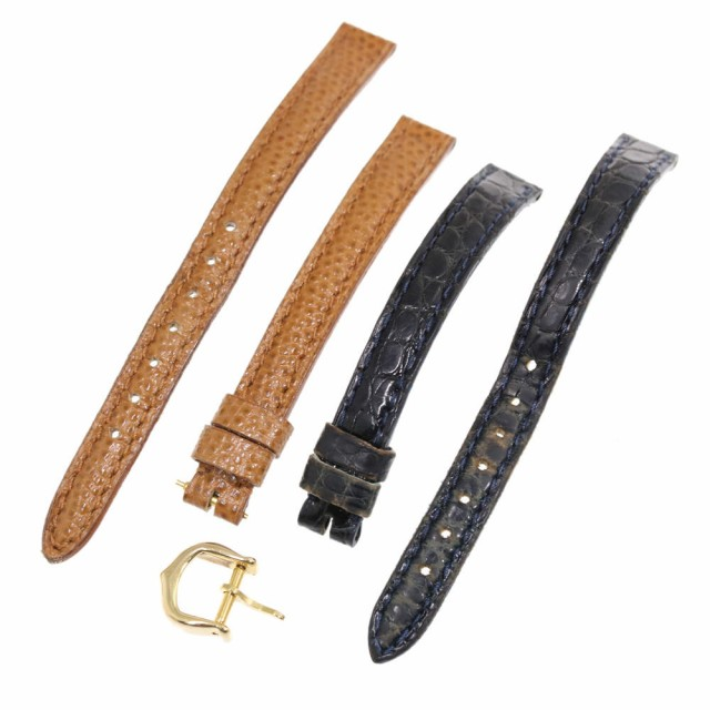 new products a6882 555d3 カルティエ 尾錠・9mmレザーベルト2本セット クォーツ 時計 ...