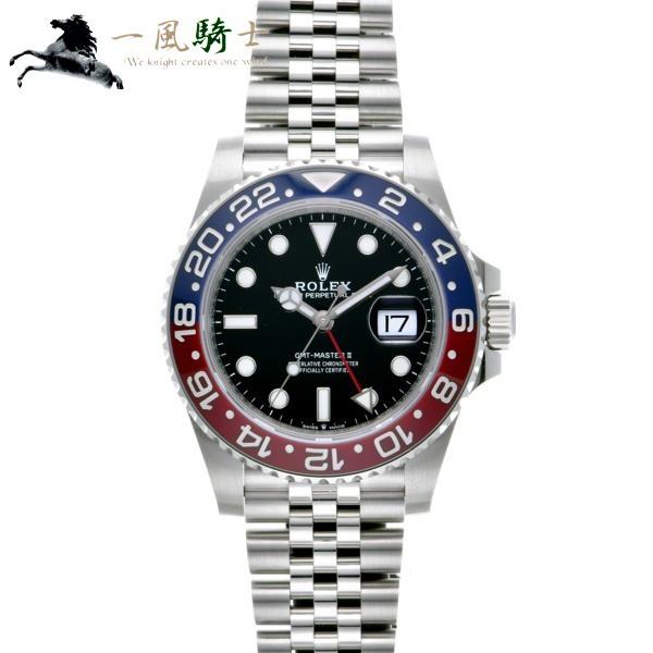 ROLEX ロレックス GMTマスターII 126710BLRO ...