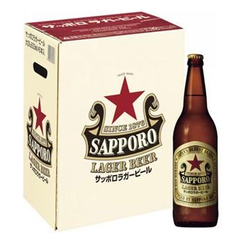 ビールギフト サッポロ ラガー大瓶6本 セット LB6...