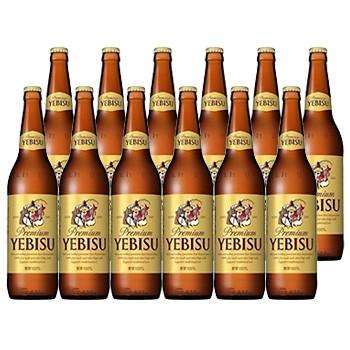 サッポロビール エビス 大瓶 633ml ビール12本セ...