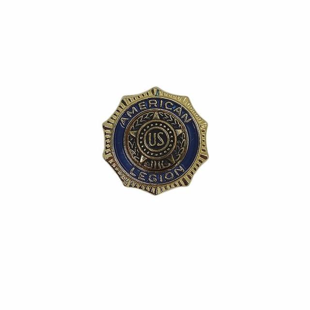 american legion ピンズ 米国在郷軍人会 メンバー 徽章 留め具付き
