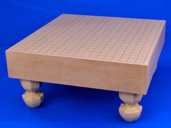 囲碁盤 新桂3寸足付碁盤