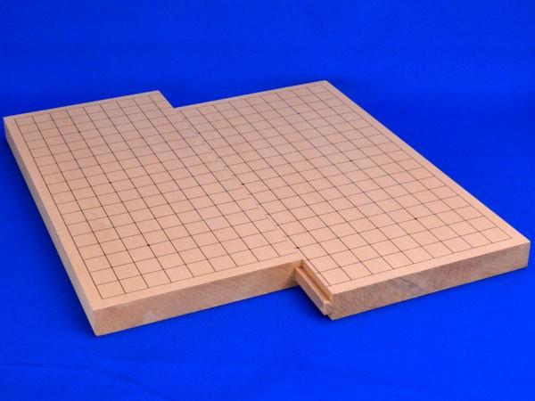 囲碁盤 スライド卓上碁盤 新桂1寸(19路9路盤)