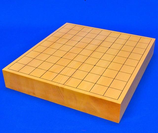 将棋盤 日本産本榧2寸ハギ卓上将棋盤【MS17】