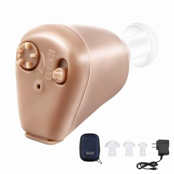 ロシヒ 補聴器 集音器 充電式集音器 拡聴器 軽量 ...