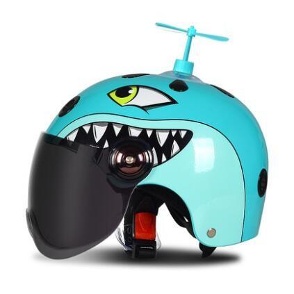 子供用ヘルメット 半帽 ジェットヘルメット バイ...