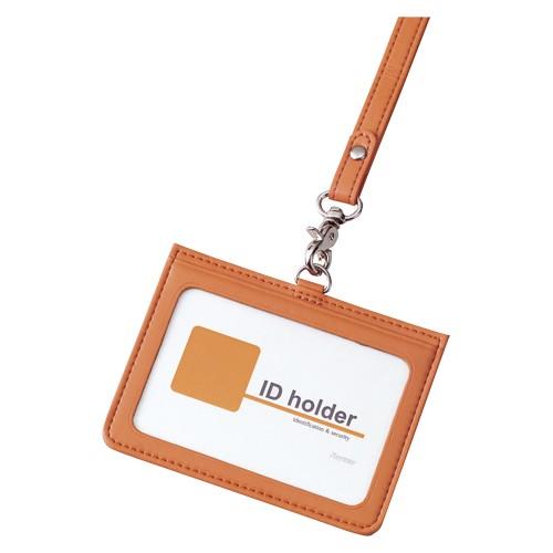 IDカードホルダー・2ポケット 1枚入 GLP155D オレ...
