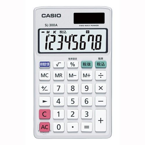 電卓 SL-300A-N 1台 カシオ 【電卓 電子辞書 電卓...