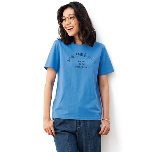 プリントTシャツ(綿100%・S〜5L) S M L LL|1126-8...