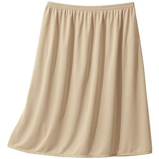 スカートに合わせて丈が選べる人気のペチコート(...