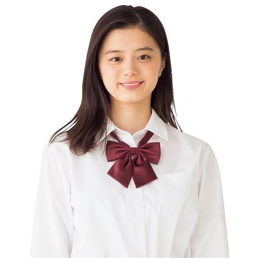 制服 スクール ワイシャツ ブラウス 形態安定 長...