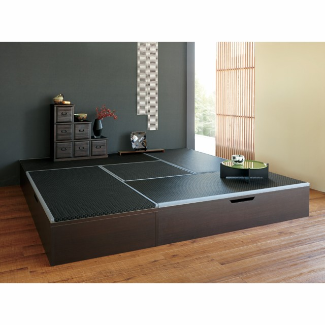家具 収納 リビング収納 テレビ台 ユニットシェルフ 美草跳ね上げ式ユニット畳 畳単品 高さ33cm 半畳 H88814