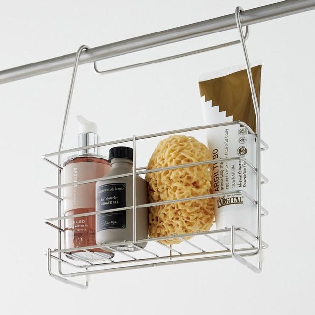 ステンレス製 シャンプーバスケット /浴室用シャ...